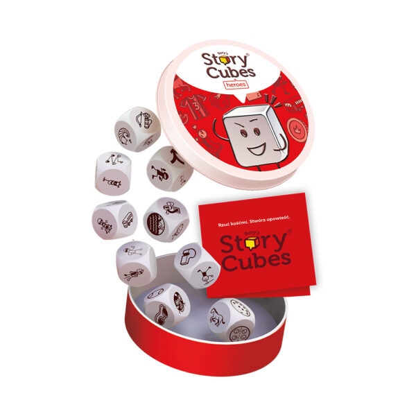 Story Cubes Bohaterowie